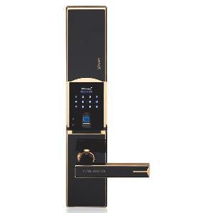 雅麒智能指纹锁 家用电子锁 滑盖智能锁J-ZMG4966