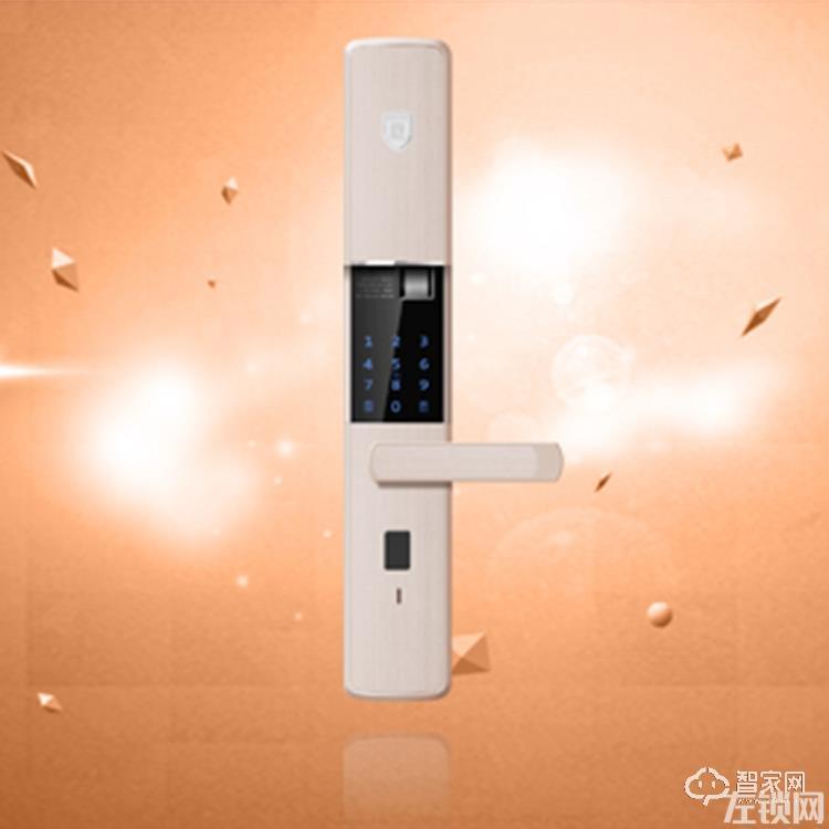高性能半导体指纹密码锁 超B钥匙防盗家用智能锁S8