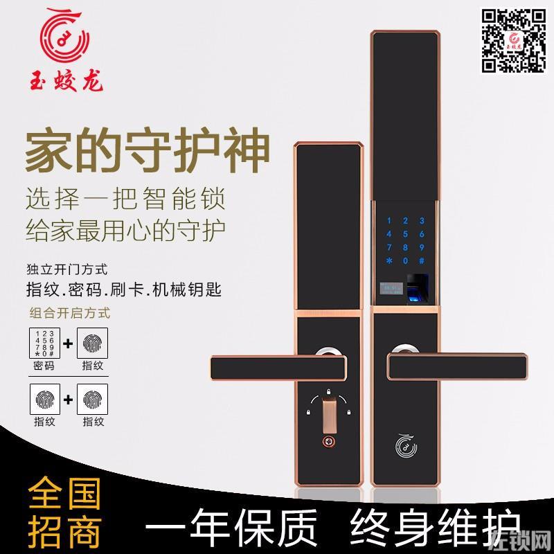 玉蛟龙sc 龙岗家用智能锁上门安装维修电子锁门禁机