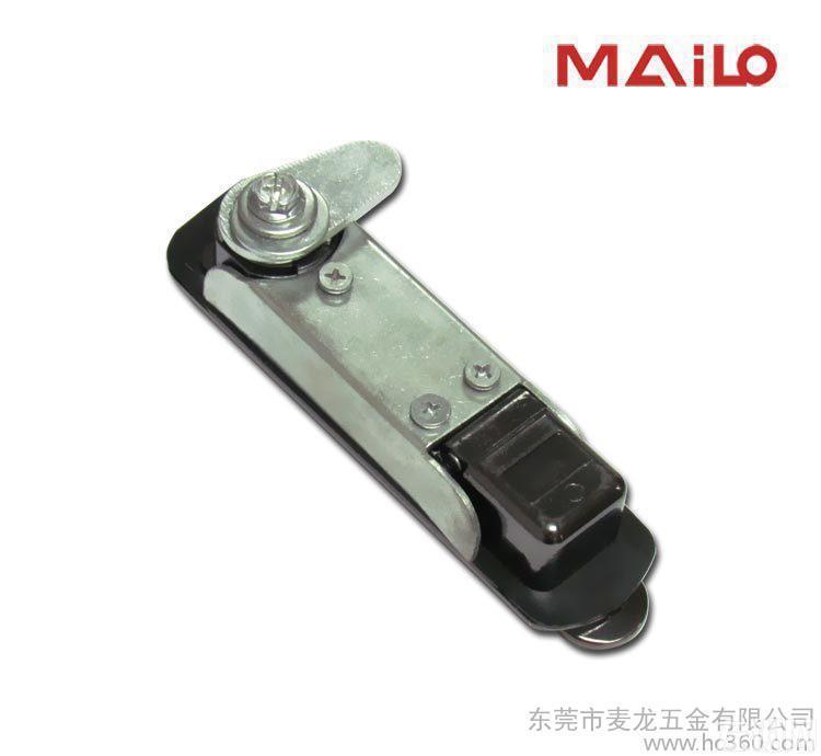 密码锁 ML1-010-3网络机柜锁 机械密码锁枪黑色钥匙开启安全锁定