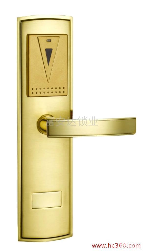供应富安达F108EJ智能酒店锁 宾馆锁 酒店智能锁