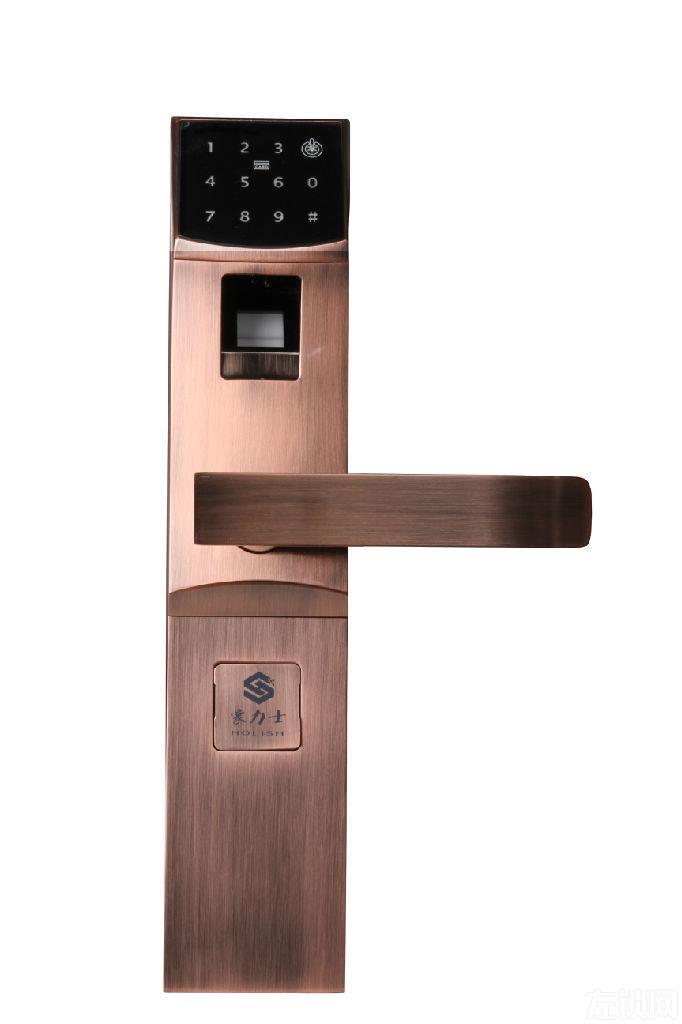 供应潍冠豪力士3310F指纹锁密码锁 刷卡锁 联网锁 手机开门锁