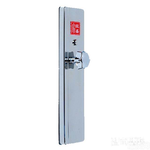 无孔遥控门锁 不锈钢制面板/遥控开锁S系列
