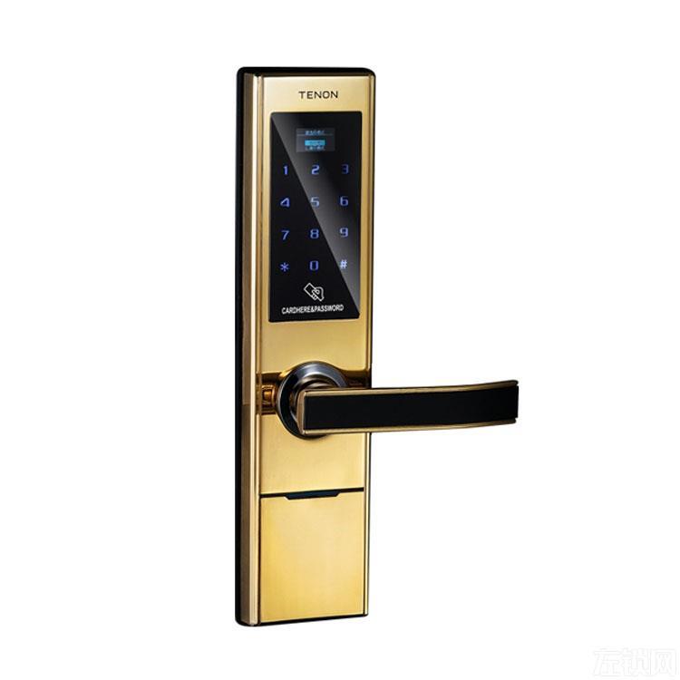 亚太天能指纹锁 酒店宾馆智能电子锁 公寓智能密码锁