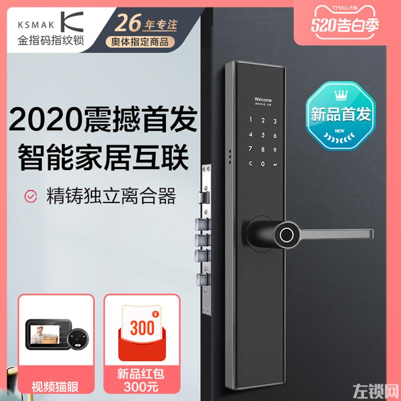金指码智能锁 SK2指纹锁家用防盗门电子门锁价格