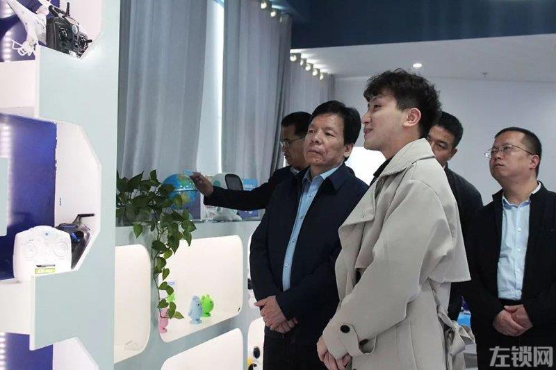 陕西宝鸡陈仓区区委书记一行到创敏科技参观考察